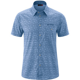 Maier Sports Lorcan Camiseta Manga Corta Hombre, blue allover